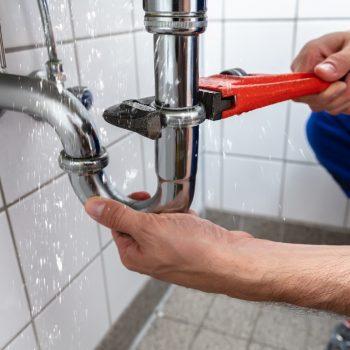 Repairing Sink Pipe Leakage